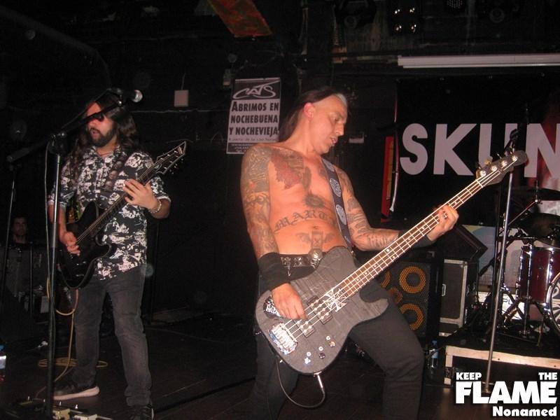 Fin de gira de Skunk D.F.